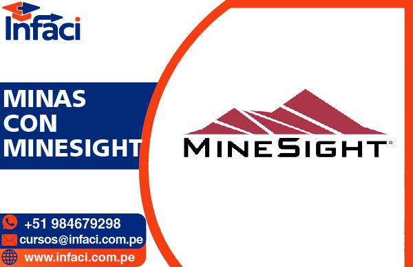 MineSight 9.2 - Modelamiento Geológico y Minas