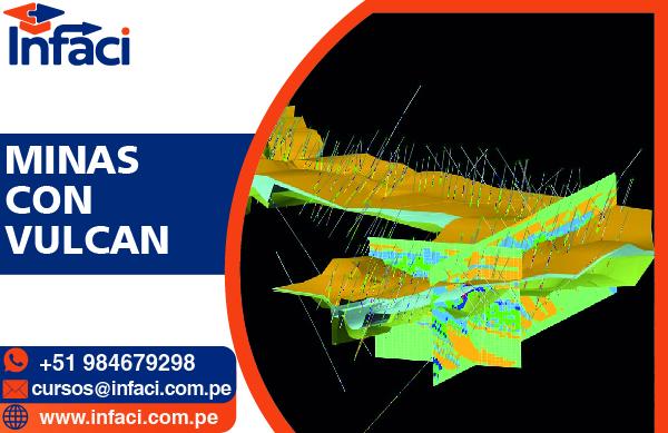 Vulcan 8.2 - Modelamiento Geológico y Minas