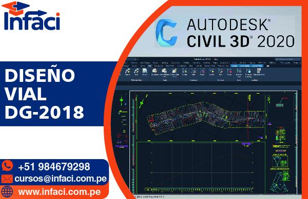 Diseño de Carretera DG-2018 MTC con AutoCAD Civil 3D 2021